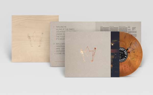 Handgefertigte Holzbox + The Last Thing The World Needs LTD Vinyl - HONIG