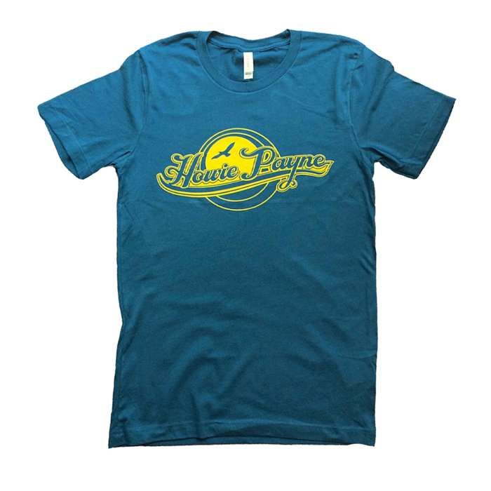 Howie Payne - Limited Edition High Quality Cotton Blue/Gold Logo T-shirt - Howie Payne