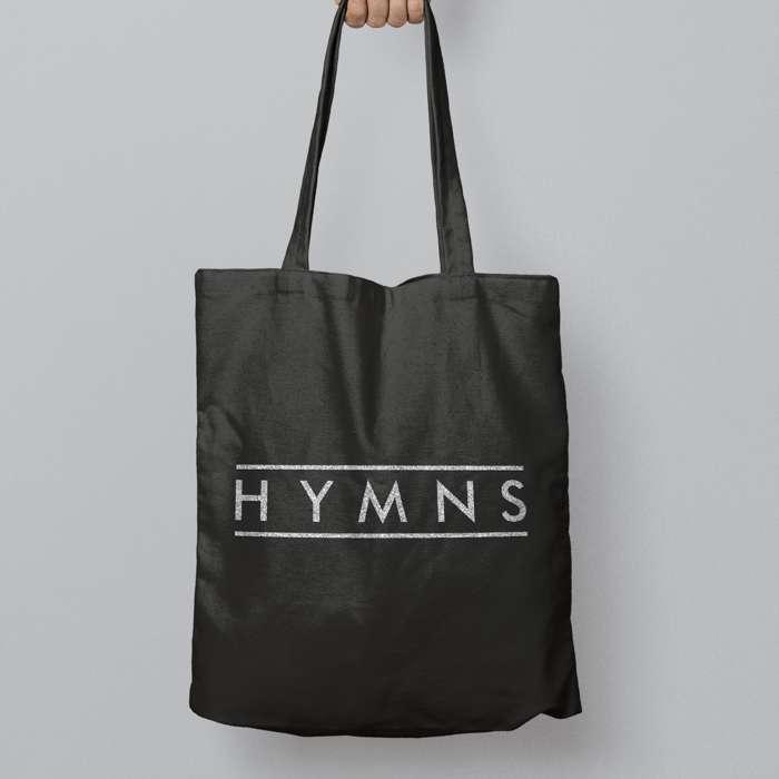 Bling Silver Logo Tote Bag - HYMNS
