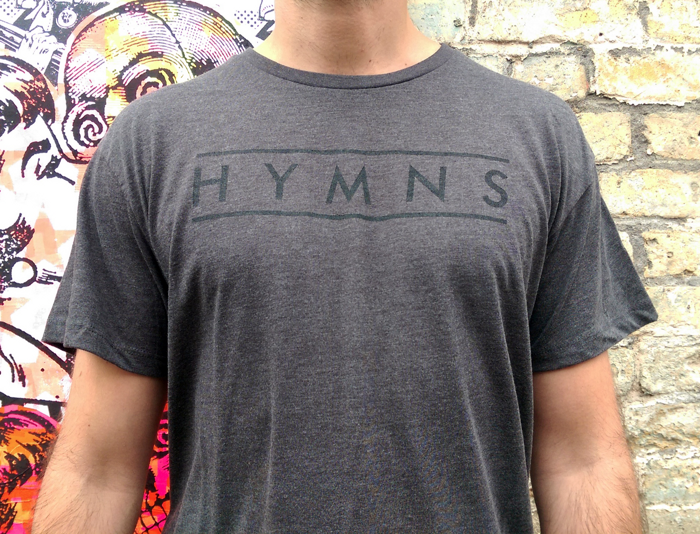 Grey Logo T-shirt - HYMNS
