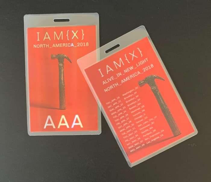 Alive In New Light North America1 Tour Laminate - IAMX (USD)