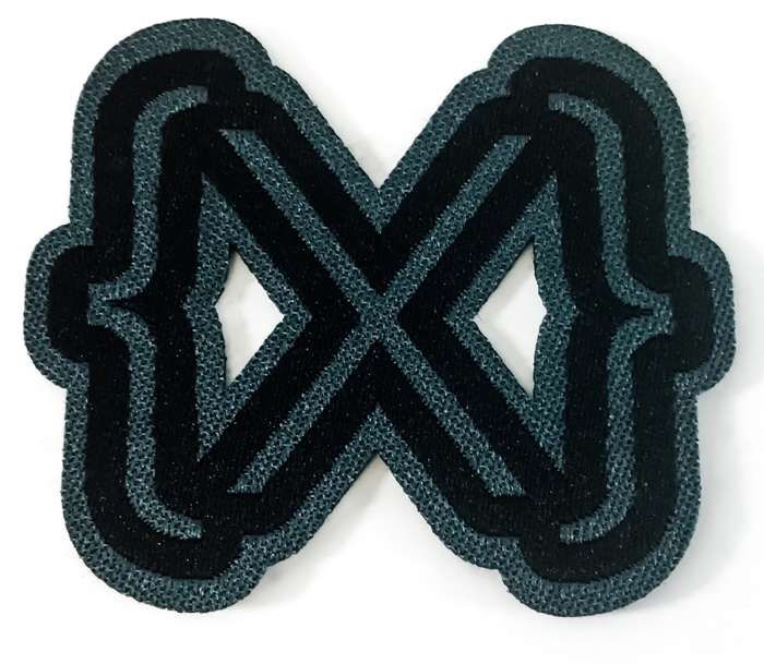 Woven Patch (Alive In New Light logo) - IAMX (USD)