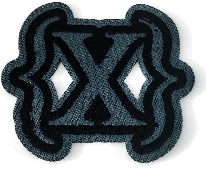 Woven Patch (Classic logo) - IAMX (USD)