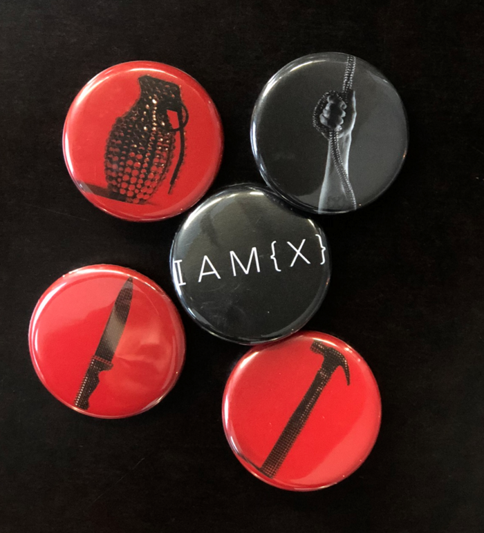 Alive In New Light Button bag - IAMX