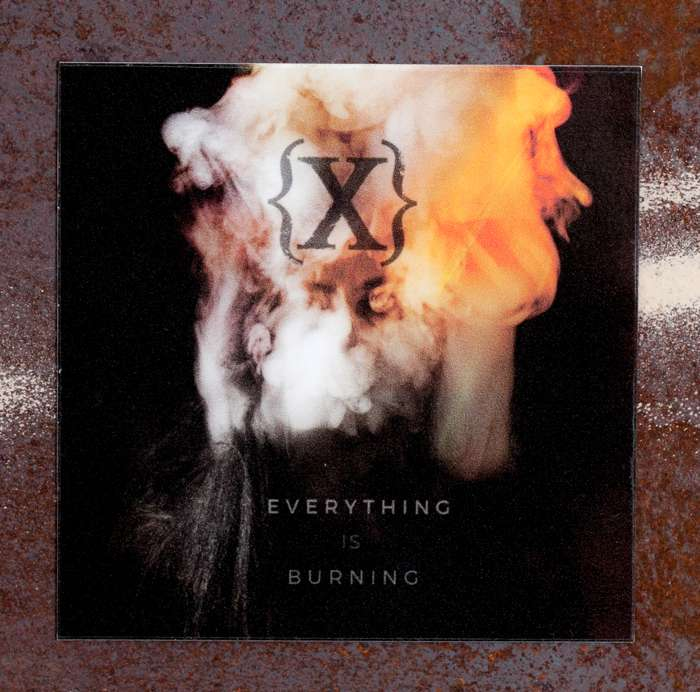 Everything Is Burning Magnet - IAMX