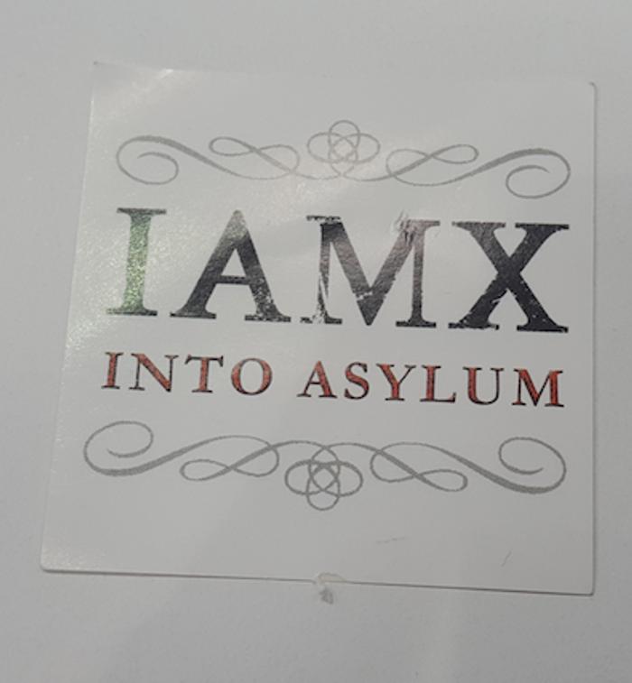 Into Asylum Sticker - IAMX