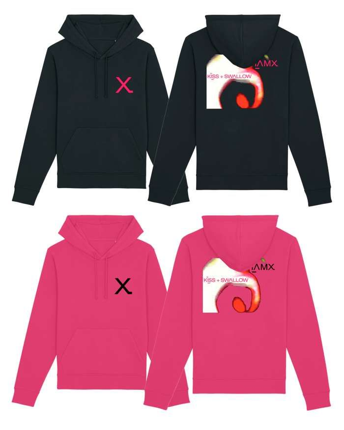 K+S Cover Pullover Hoodie - IAMX