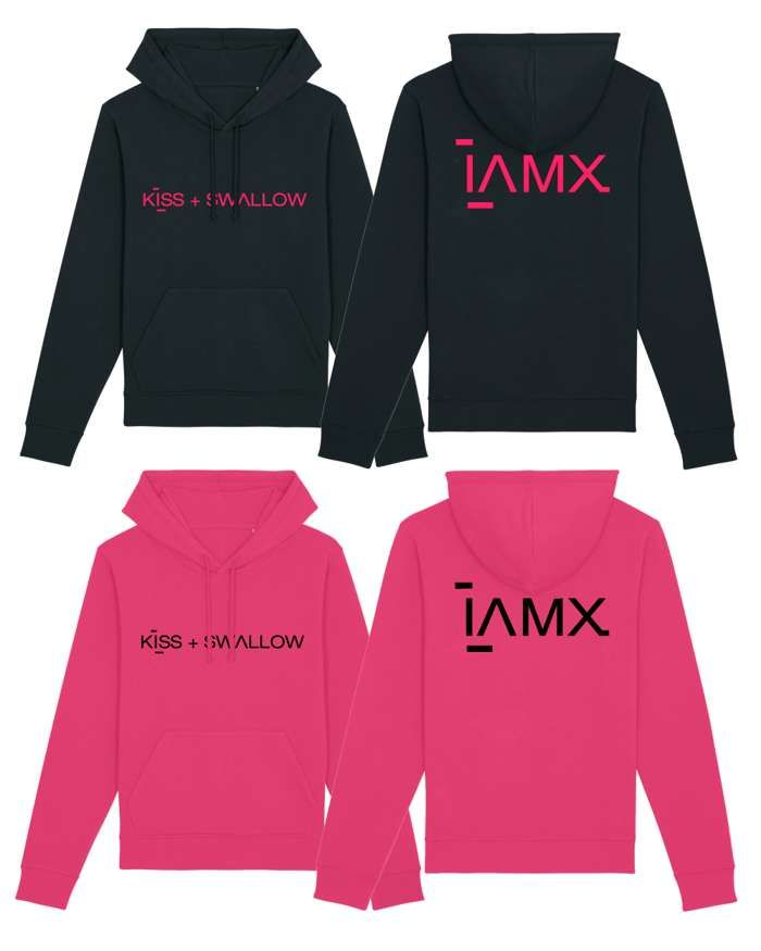 Kiss + Swallow Pullover Hoodie - IAMX