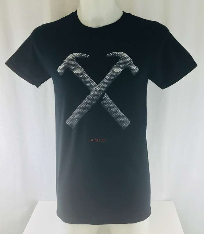 Men's Alive In New Light Euro1 Tour Tshirt - IAMX