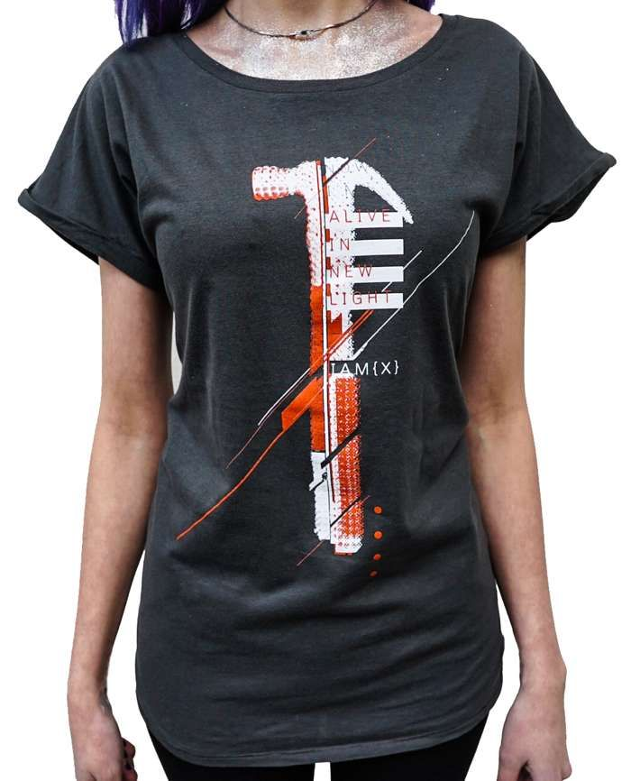 Women's Grey TShirt - IAMX