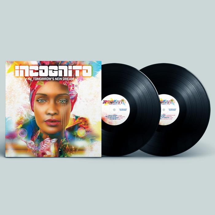 "Tomorrow's New Dream (Signed 12"" Double Vinyl) - Incognito"