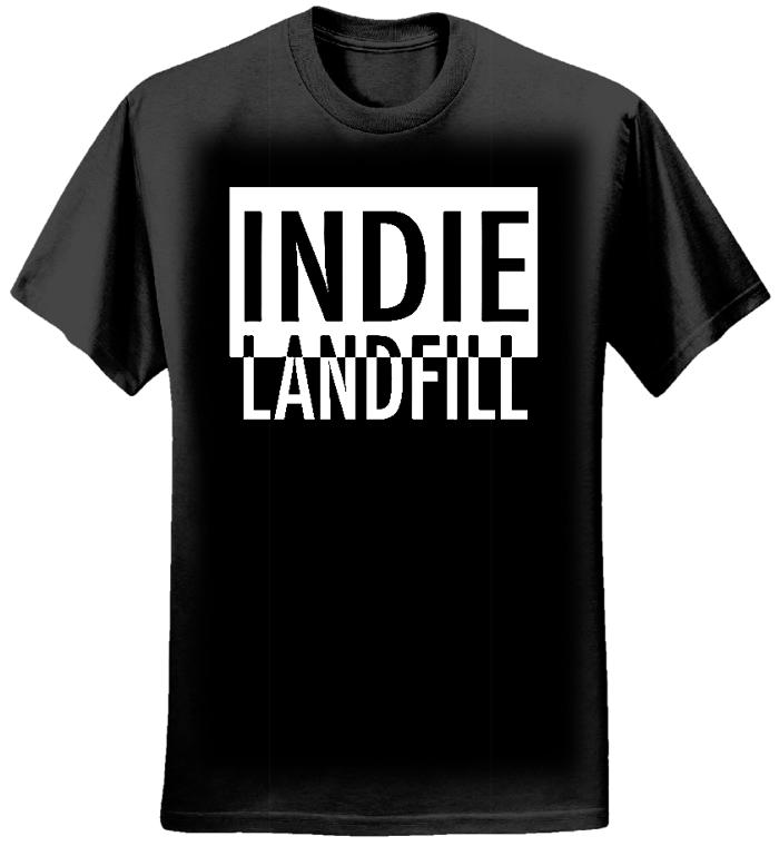 T-SHIRT BLACK - INDIE LANDFILL