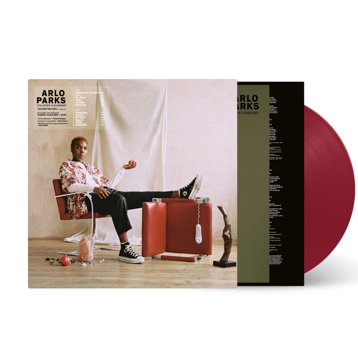 Collapsed In Sunbeams - Limited Deep Red LP - Arlo Parks