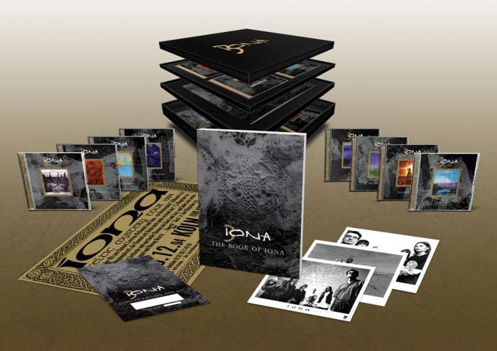 The Book Of Iona 17CD box set - 2nd Pressing - Iona