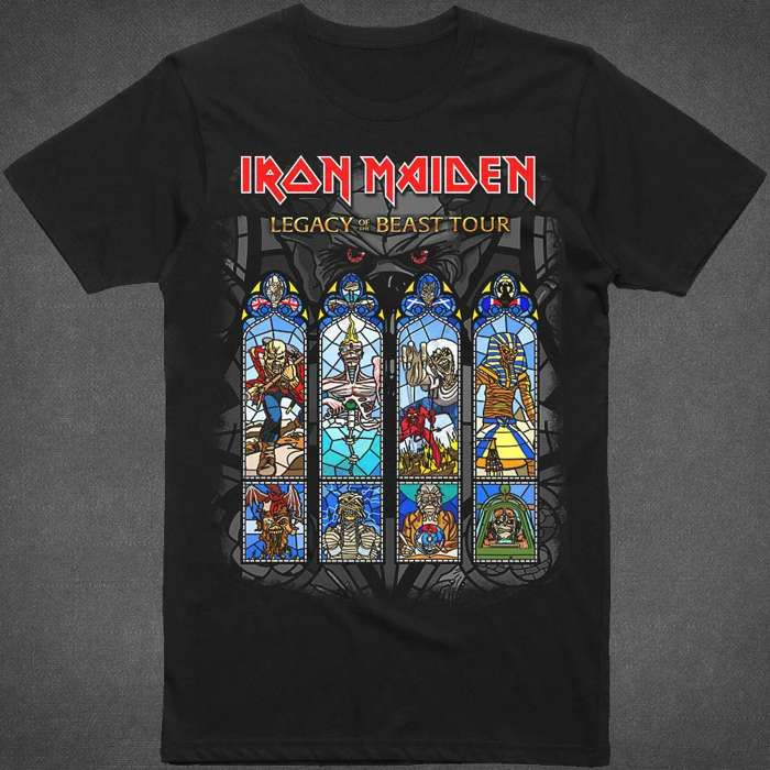 Legacy of The Beast 2018 Tour T-Shirt - Iron Maiden [Global UK]