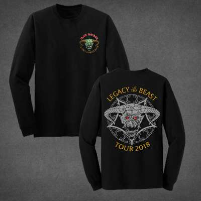 ad0df85b0f7 Legacy of the Beast Long Sleeve Tour Shirt
