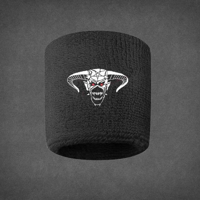 Legacy of the Beast Terry Towel Embroidered Sweatband - Iron Maiden [Global UK]