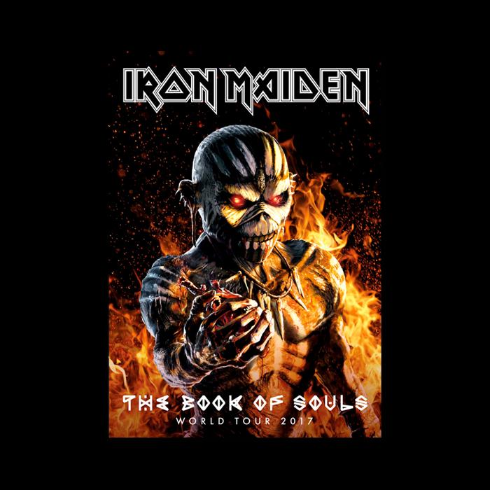 Book Of Souls 2017 Tour Program - Iron Maiden [Global USA]