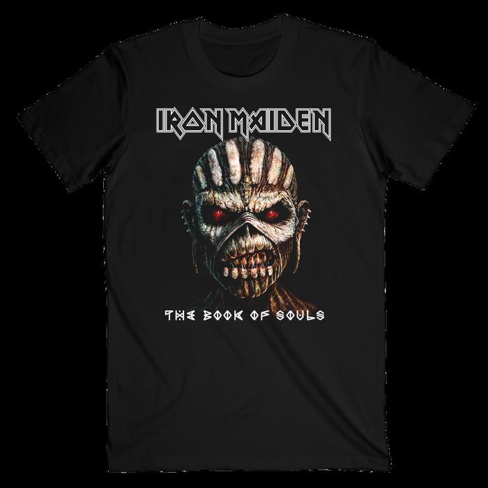 Book Of Souls Album Art T-Shirt - Iron Maiden [Global USA]