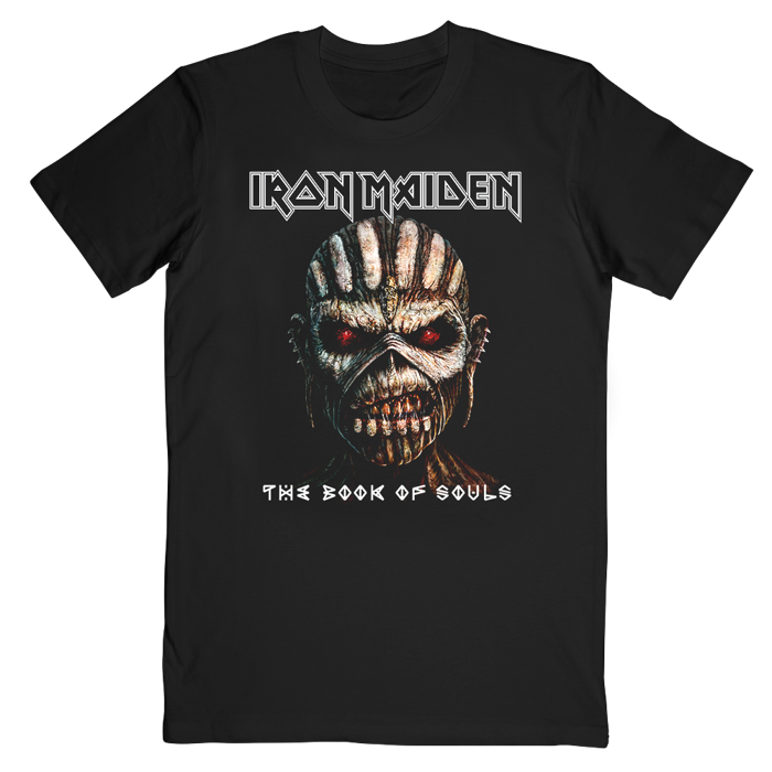 Book Of Souls Cover 2017 Tour T-Shirt - Iron Maiden [Global USA]