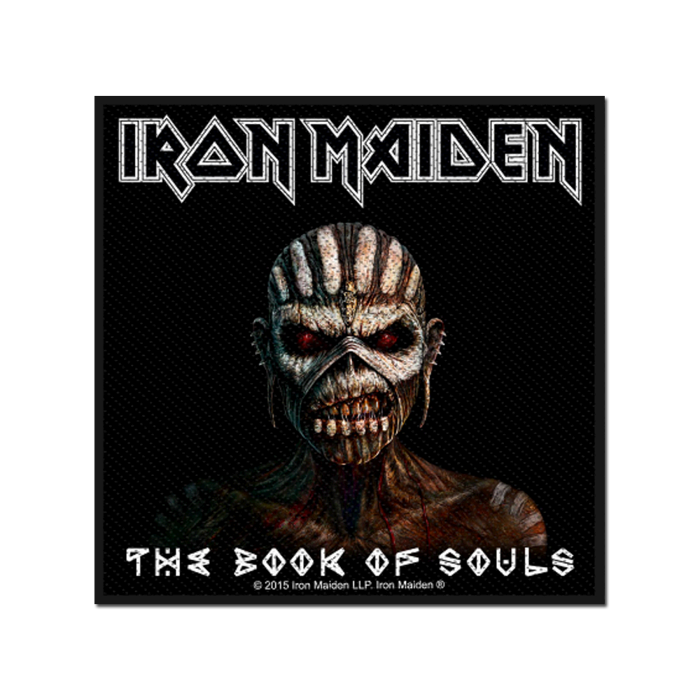 Book Of Souls Woven Patch - Iron Maiden [Global USA]