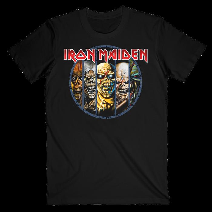 Eddie Evolution T-Shirt - Iron Maiden [Global USA]