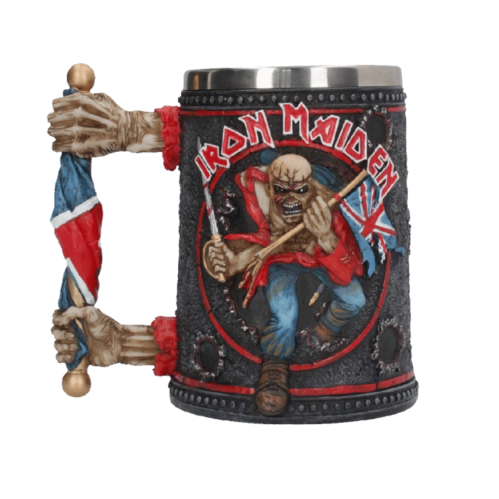 Flag Handle Tankard - Iron Maiden [Global USA]
