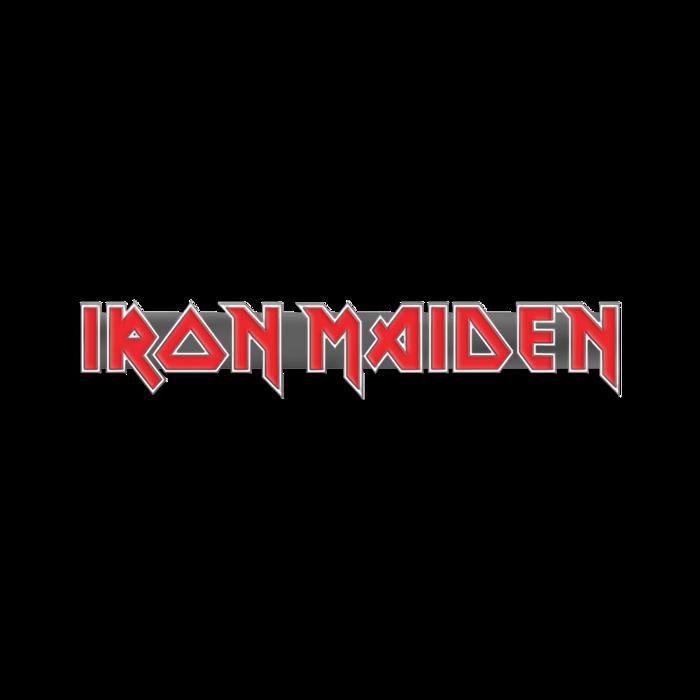 Iron Maiden Logo Pin Badge - Iron Maiden [Global USA]