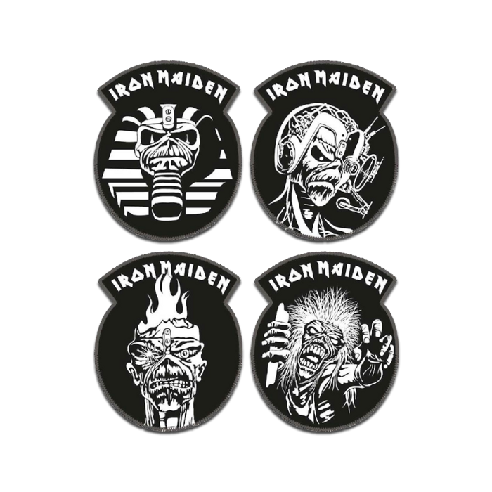 Iron Maiden Woven Patch Set - Iron Maiden [Global USA]