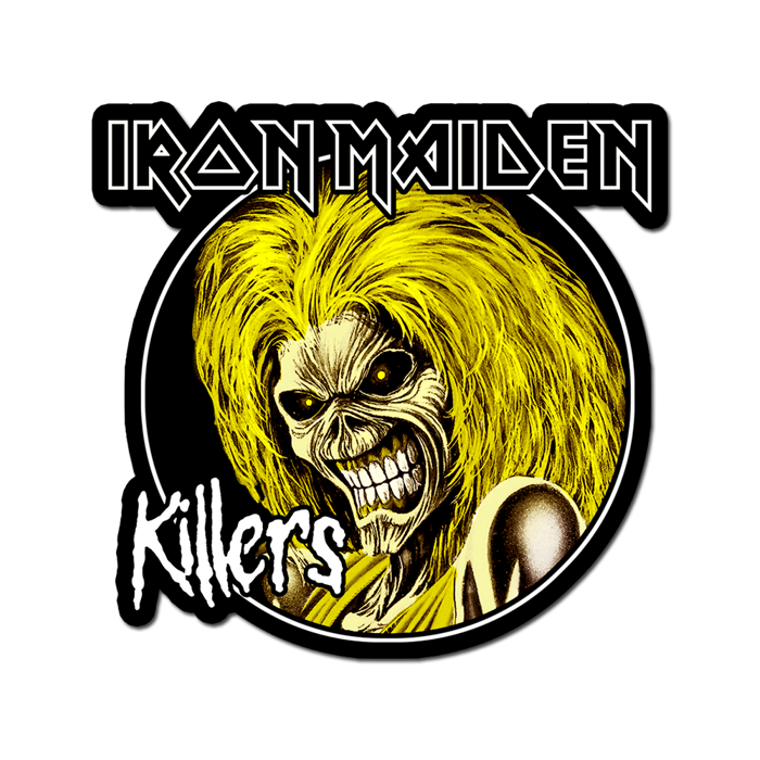 Killers Diecut Sticker - Iron Maiden [Global USA]
