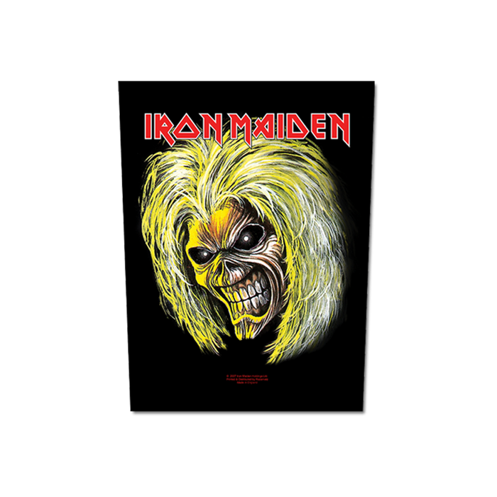Killers Eddie Back Patch - Iron Maiden [Global USA]
