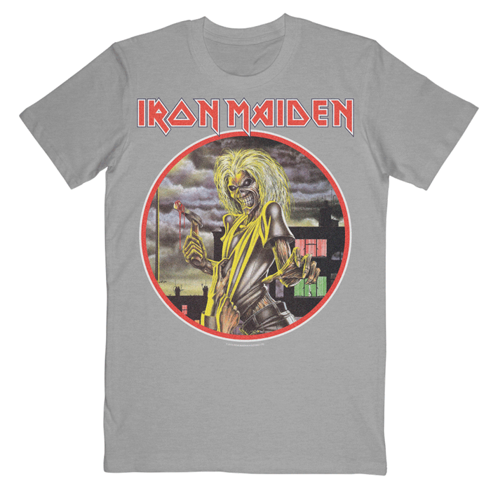 Killers on Grey T-Shirt - Iron Maiden [Global USA]