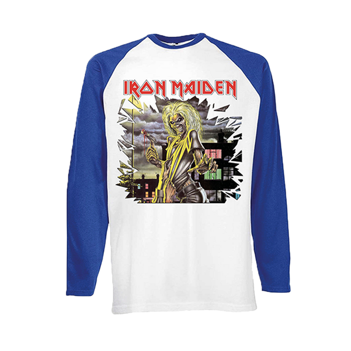 Killers Shatter Baseball tee - Iron Maiden [Global USA]