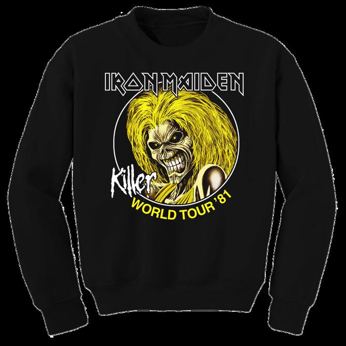 Killers World Tour Sweatshirt - Iron Maiden [Global USA]