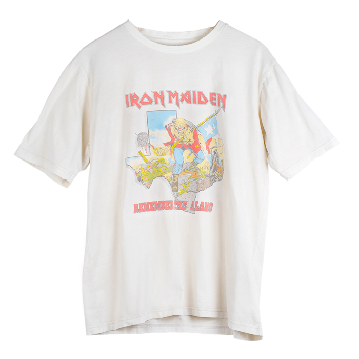 Maiden Remastered Remember The Alamo '83 Tee - Iron Maiden [Global USA]
