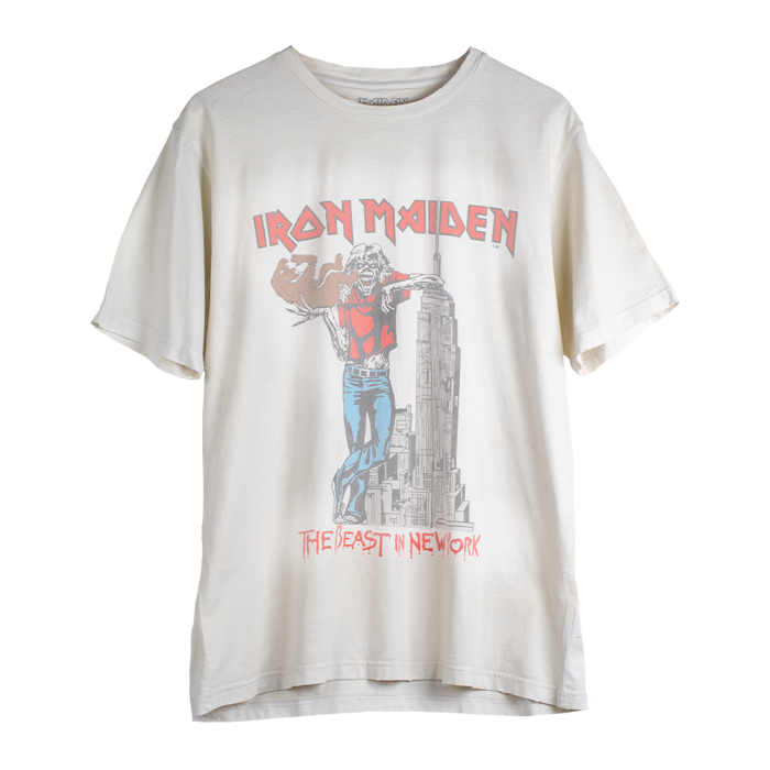 Maiden Remastered The Beast In New York '82 Tee - Iron Maiden [Global USA]