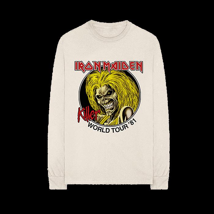 Natural Killers World Tour '81 Longsleeve tee - Iron Maiden [Global USA]
