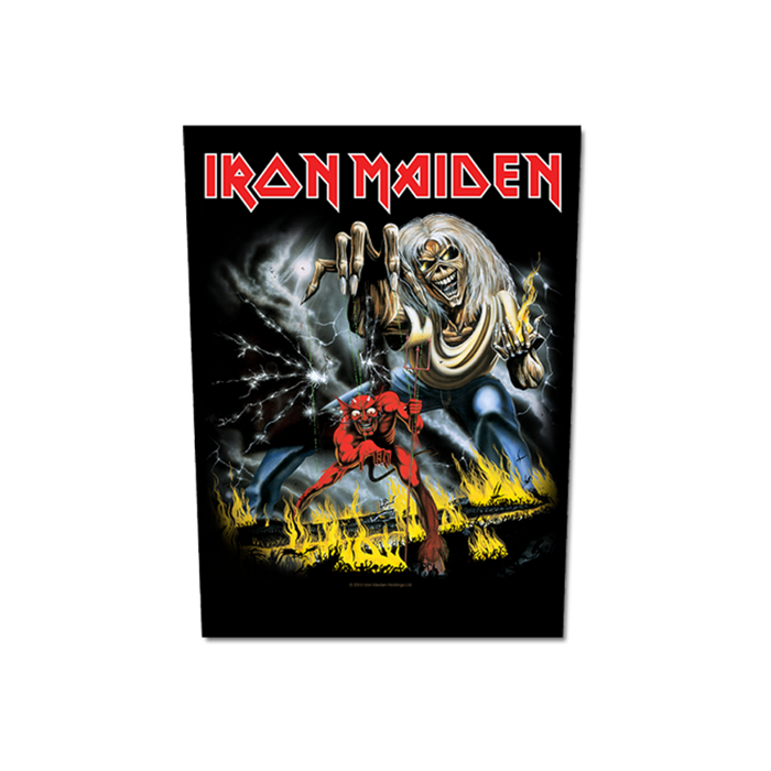 Number of the Beast Back Patch - Iron Maiden [Global USA]