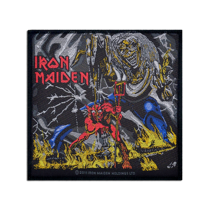 Number of the Beast Woven Patch - Iron Maiden [Global USA]
