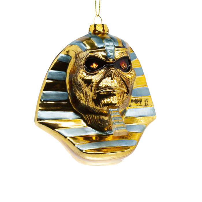 Powerslave Glass Ornament - Iron Maiden [Global USA]