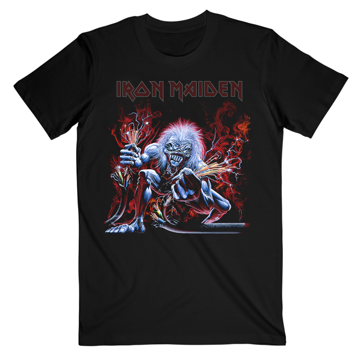 Real Live Wire T-Shirt - Iron Maiden [Global USA]