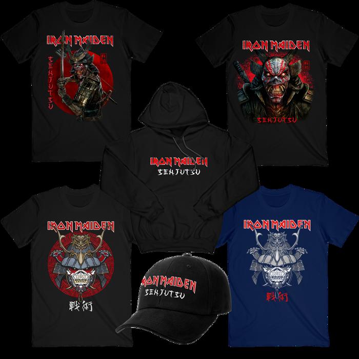 Senjutsu Ultimate Merch Bundle - Iron Maiden [Global USA]