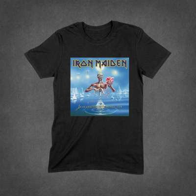 11d66338787f4c Seventh Son of a Seventh Son Album Cover Tee