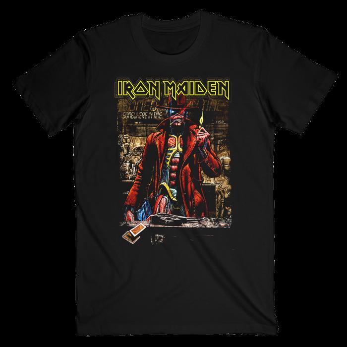 Stranger Sepia T-Shirt - Iron Maiden [Global USA]