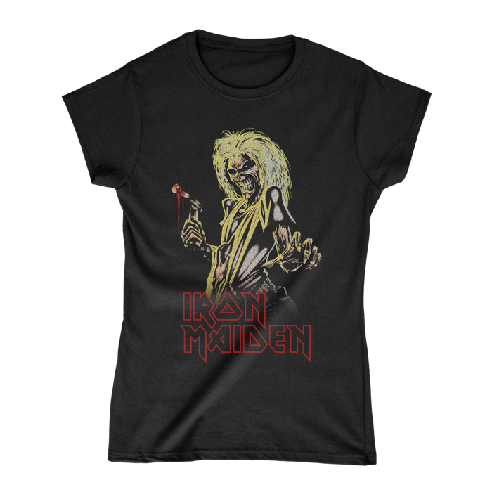 Stylised Killers Eddie Ladies Tee - Iron Maiden [Global USA]