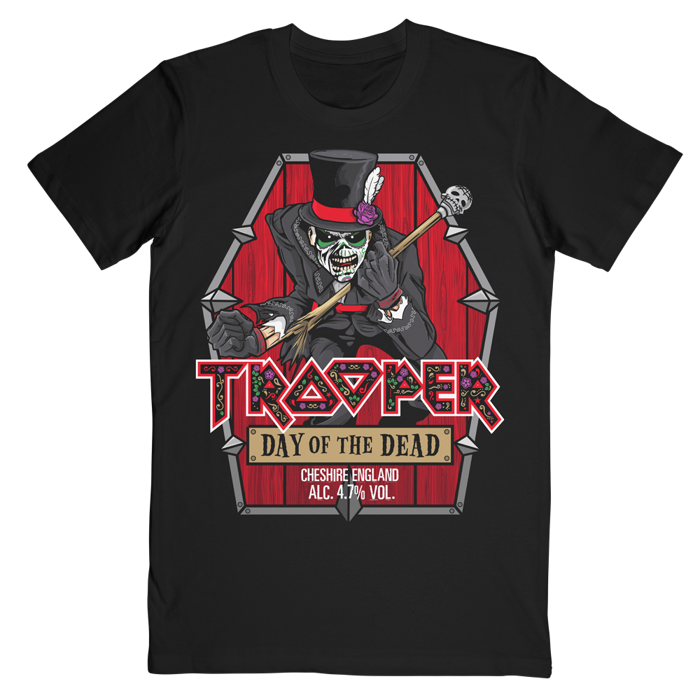 Trooper Day Of The Dead tee - Iron Maiden [Global USA]