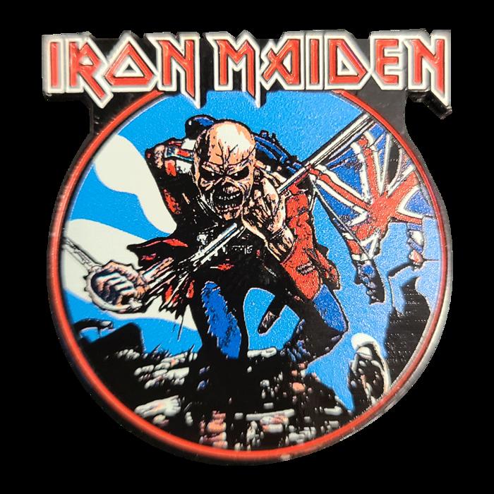 Trooper Lapel Pin - Iron Maiden [Global USA]