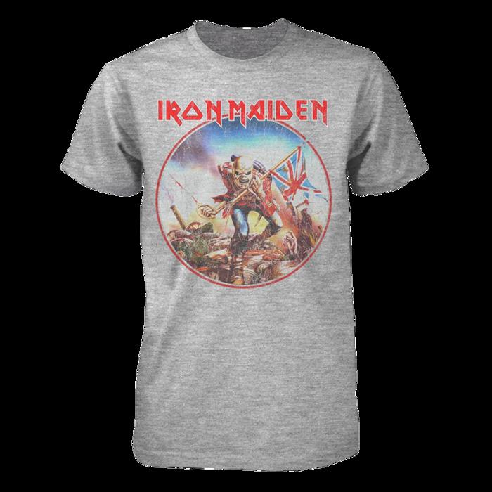 Trooper Vintage Circle T Shirt - Iron Maiden [Global USA]