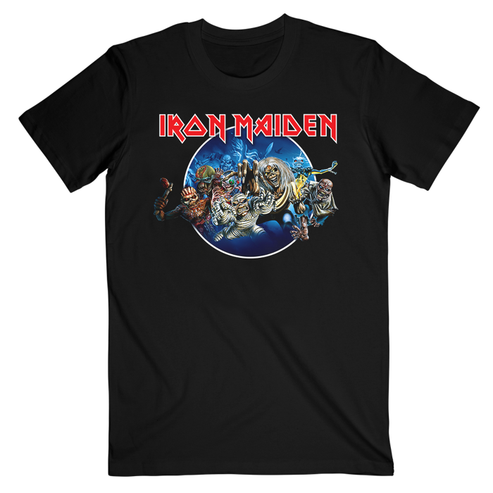 Wasted Years T-Shirt - Iron Maiden [Global USA]