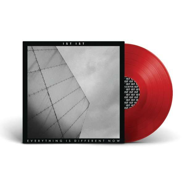 "'Everything Is Different Now' EP - 12"" Vinyl - Red - IST IST"